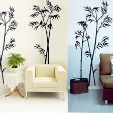 compare prices on bamboo wall stickers online shopping buy low diy art black bamboo quote wall stickers decal mural wall sticker for home office bedroom wall