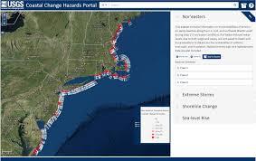 Washington Coast Map Coastal Change Hazards Portal