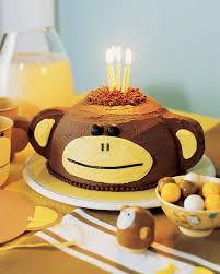 easy monkey birthday cake recipe sweets photos blog