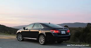lexus sedan 2012 review 2012 lexus es350 the truth about cars