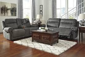 Living Room Recliners Microfiber Recliner Loveseat Sofa Set