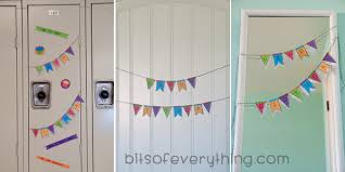 Ideas For Decorating Lockers Easy Birthday Idea For Teens Bits Of Everything