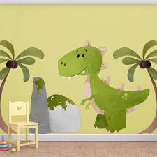 chambre dinosaure stickers dinosaure triceratops st enf 04