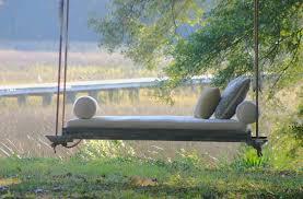 canap suspendu jardins et terrasses canape lit suspendu jardin vintageporchswings