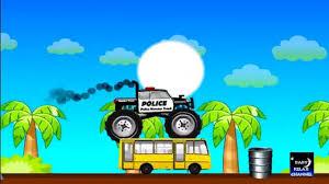 monster truck for children cartoon police monster truck monster trucks for children monster trucks