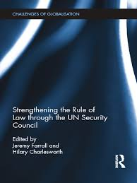 jeremy farrall hilary charlesworth strengthening the rule of law