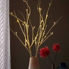 Led Branch Centerpieces by Festive And Modern Holiday Lights Our Battery Operated Led