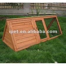 Fox Proof Rabbit Hutches Cheap Outdoor 5ft Triangle Wooden Rabbit Hutch With Run Buy