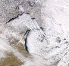 Map Of The United States Great Lakes by Lake Effect Snow In The Great Lakes Region Glisa