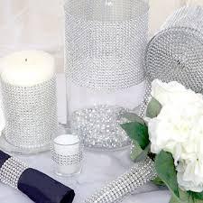 diamond party supplies buy wedding diamond mesh wrap roll sparkle rhinestone looking