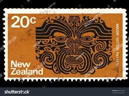 zealand circa 1970 stamp printed stock photo 80517949