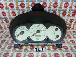 used 2002 honda civic instrument clusters for sale