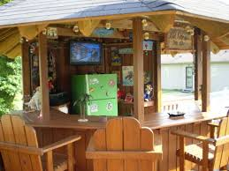 Best  Backyard Bar Ideas On Pinterest Outdoor Garden Bar - Tiki backyard designs