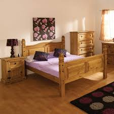 corona mexican 5ft kingsize bed in solid pine furniture123