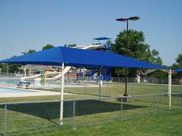 Pergola Shade Ideas by Outdoor U0026 Landscaping Astounding Blue Awning Roofing For Pool
