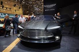 aston martin picked geneva to launch its electric dbx concept