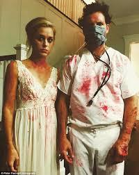 Garth Halloween Costume Jennie Garth Dave Abrams Celebrate Halloween Husband