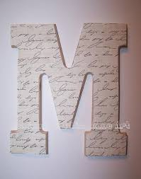 Monogram Letters Home Decor by Wood Letter Wall Decor Monogram Wooden Wall Letters Rustic Wall