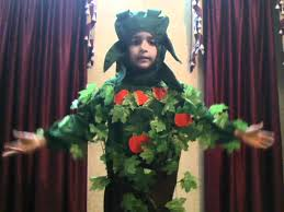 aryaveer singh ludhiana india dressed as a tree youtube