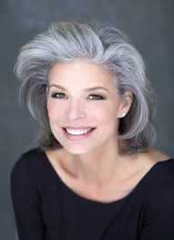 non celebrity hairstyles for women over 50 the silver fox stunning gray hair styles bellatory