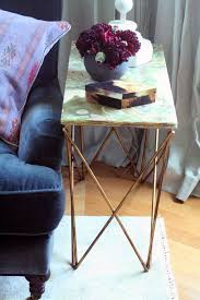 X Base Side Table Onyx X Base Side Tables Little Green Notebook