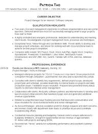 It Project Manager Resume Template Software Project Manager Project Management Software