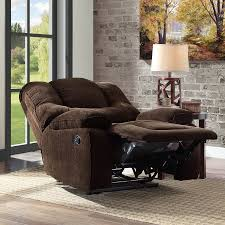 better homes and gardens big u0026 tall recliner with in arm storage