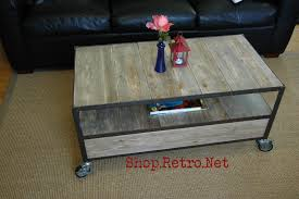 apartment size coffee tables vintage industrial inspired apartment size coffee table vintage