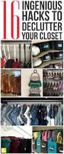 best 25 closet hacks ideas on pinterest small space storage