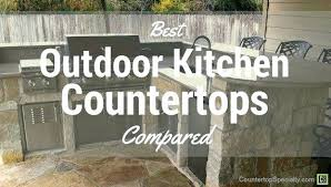 outdoor kitchen countertops ideas best tile for countertop kitchen thelodge club