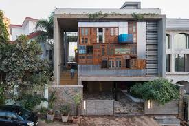 a house full of recycled materials design milk