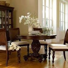 Chris Madden Dining Room Furniture Chris Madden J C Penneys Pedestal Dining Table And 4 Chairs