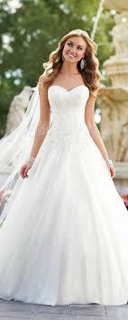 brautkleid strass elegante tüll a linie wulstige spitze brautkleider wedding