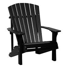 Adirondack Chairs Plastic Luxcraft Crestville Deluxe Adirondack Chair In Solid Tropical