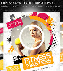 fitness flyer template 15 excellent flyer templates for your next event designer daily