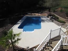 Mountain Lake Pool Design by Inground Pool Installation Atlanta Ga Vinyl Pool Builder Co