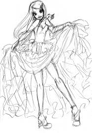 query kushina dress for prom up a sketch by radian the art on
