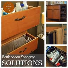 Small Bathroom Storage Boxes by Small Bathroom Storage Solutions Hometalk