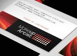 freelance makeup artist business card free makeup business card templates mugeek vidalondon