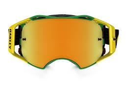 oakley new mx airbrake high oakley airbrake mx shockwave green yellow lens 24k iridium mx