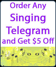 singing telegrams nj party entertainment