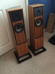 Beautiful Speakers Naim Ibl Speakers In Oak Beautiful And Boxed Now Sold In
