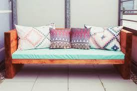 sofa liegewiese diy holzsofa outdoor