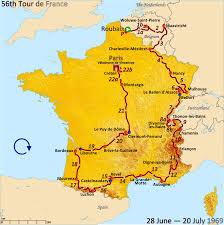 Bordeaux France Map 1969 Tour De France Wikipedia
