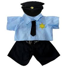 build a boy clothes policeman teddy clothes fits most
