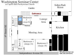 washington dc group hostel floor plan u0026 info
