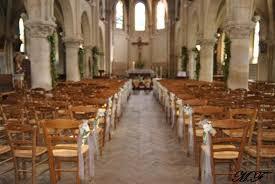decoration eglise pour mariage déco de mariage