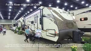 Wildcat 5th Wheel Floor Plans Forest River Wildcat 281dbk Youtube