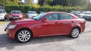 lexus is300h executive edition 4dr cvt auto used lexus is red for sale motors co uk