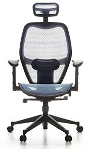 fauteuil de bureau dossier inclinable hjh office 653060 chaise de bureau fauteuil de bureau air port bleu